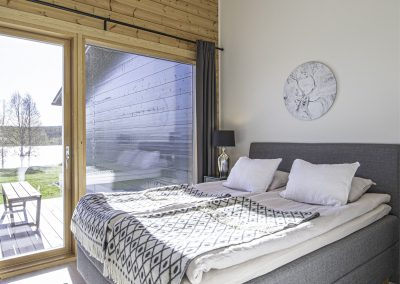 Makuuhuone Anttilanrannantie Riverside Luxury Suites
