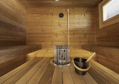 Sauna Anttilanrannantie Riverside Luxury Suites