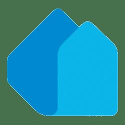 Lapin uudiskodit logo sininen