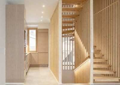 Rauhankatu 32 portaikko