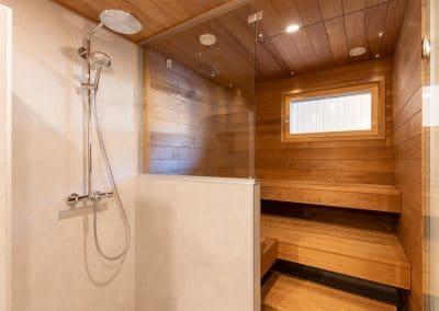 Katajaranta sauna Lapin Uudiskodit