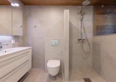 Katajaranta kylpyhuone vessa Lapin Uudiskodit